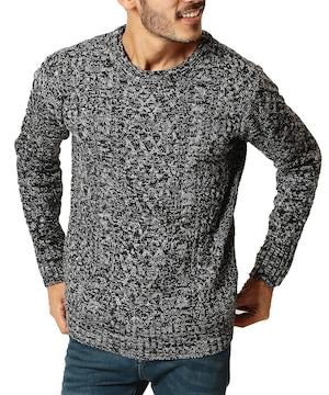 ニット セーター メンズ ニット 厚手 長袖  防寒 CMG