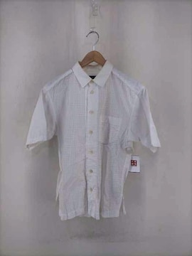 ISSEY MIYAKE MEN(イッセイミヤケメン)ボックスシルエット 半袖ボタンシャツシャツ