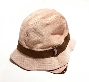 正規グッチキッズ帽子GGハットスエード子供用GUCCIGG柄レ