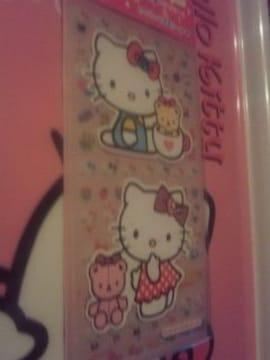 キティめちゃカワなシール&ステッカーセット☆リボン☆ドット☆ピンク☆