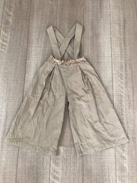 韓国子供服aboutサロペM綿100%女の子90〜