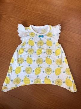 半袖Tシャツ 95 レモン柄