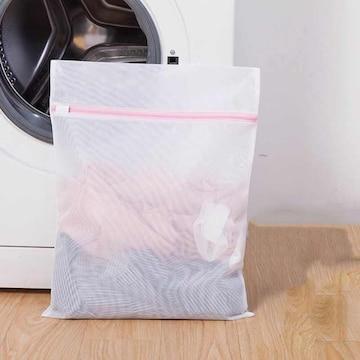 お試し190円★超人気 洗濯袋 ランドリーメッシュネットS