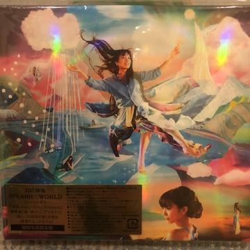 激安!超レア!☆miwa/SPLASH☆WORLD☆初回盤/CD+DVD☆新品未開封