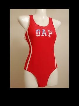 A1024 スポーツウェア/GAP/whiteline red swimwear