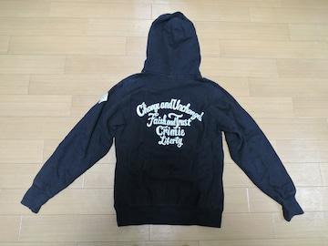 CRIMIE クライミー スウェット パーカー S 黒 背ロゴ
