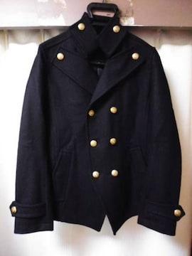 ガラアーベント 金ボタン ナポレオン メルトンウールPコート