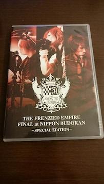 Angelo「THE FRENZIED FINAL at NIPPON BUDOKA」DVD/PIERROT