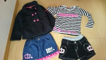 BABYDOLL☆女の子☆120サイズ☆福袋☆4点セット☆