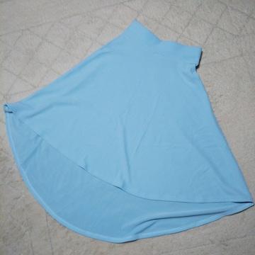 フレアロングスカート★夏にピッタリのお色です!