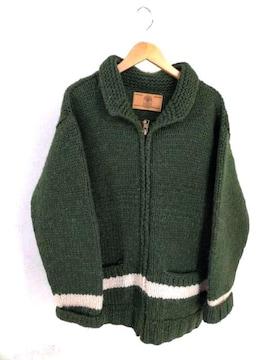 CANADIAN SWEATER(カナディアンセーター)カウチン ジップアップセーターニット・セーター