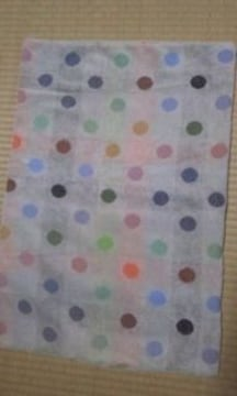 ハンドメイド今治産タオル使用枕カバー袋、猫柄2枚