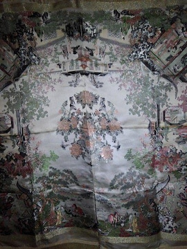 素敵なテーブルクロス 96×99  中国製