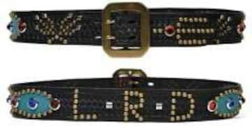 送料無料新品テッドマン/スタッズベルト/ブルー36/TDSB - 400/HTC 東洋