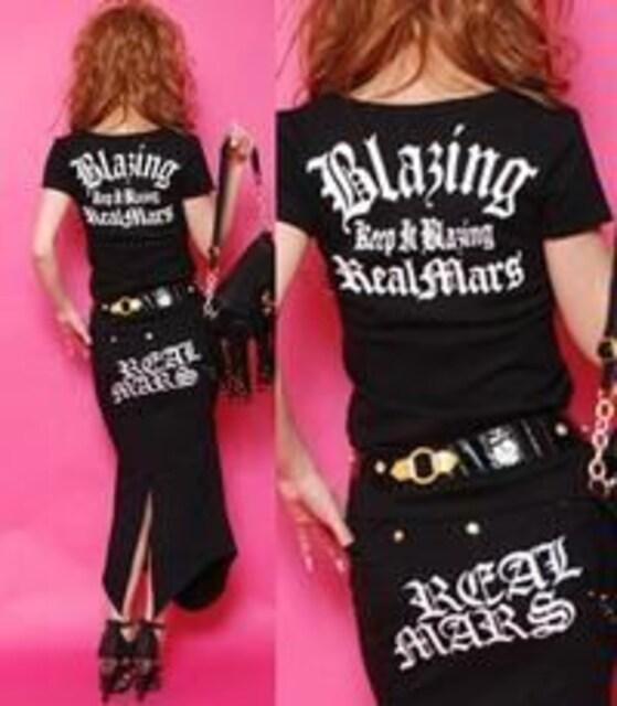 REALMARS☆スカルTシャツ☆ブラック☆新品 < ブランドの