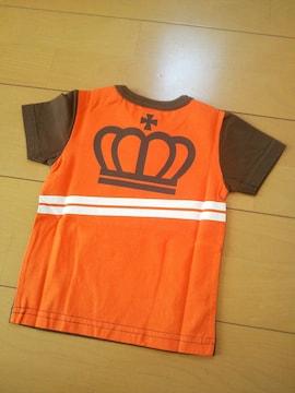 新品エンジョイTシャツ80茶ベビドBABYDOLLベビードール