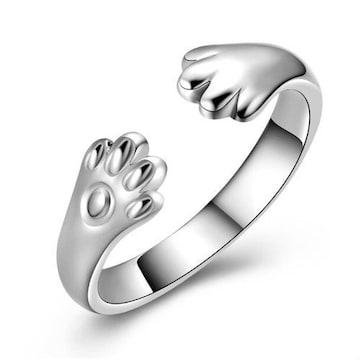 リング 指輪 レディースアクセサリー 肉球指輪