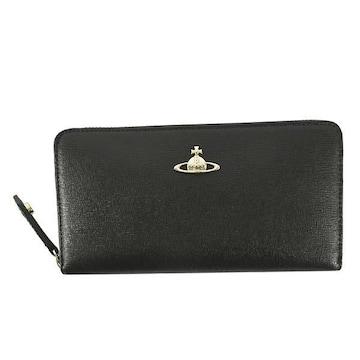 ◆新品本物◆ヴィヴィアンウエストウッド SAFFIANO 長財布(BK)51050001◆