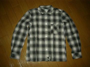 新品 ビームスBEAMSラメチェックシャツM長袖