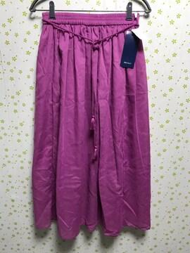 Mサイズ ロープベルト付き ロングスカート