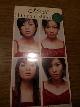 MAX*Shinin'on-shinin'love☆CDシングル美品☆