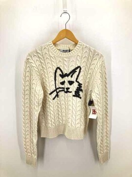 MSGM(エムエスジーエム)CAT PRINTED PULLOVER ウールニットニット・セーター