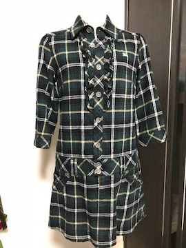 BURBERRY BLUE LABEL ワンピース 38 綿100%