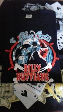 BLUE CATS/BILLY RUFFIANS Tシャツ�呑カビリークリームソーダサイコビリーFRENZY