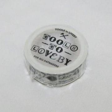 台湾文房具店TOOLS to LIVEBYオープン記念限定マスキングテープ