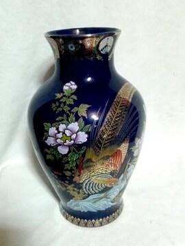 陶器製花瓶(中国花瓶)