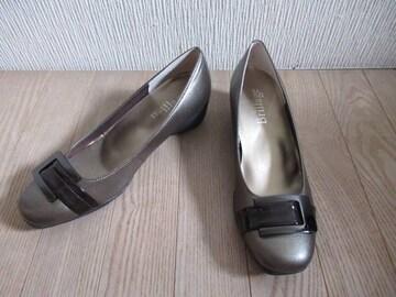 人気ブランド&新品&国産★ブリアージュ/Brillage★革/金茶/24