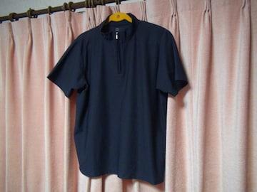タキヒヨーのポロシャツ(L)ネイビー!。
