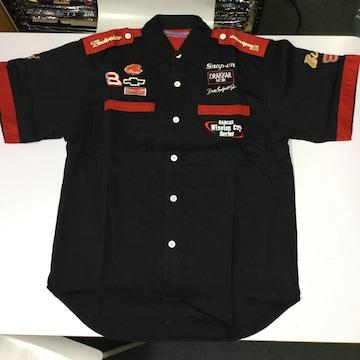 ワークシャツ XLサイズ 黒 バドワイザー ピットシャツ DBB62