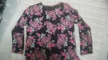 黒ピンク系長袖