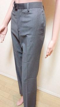 新品☆ATELIER SAB MEN☆微光沢STのスリムパンツ B49☆3点で即落