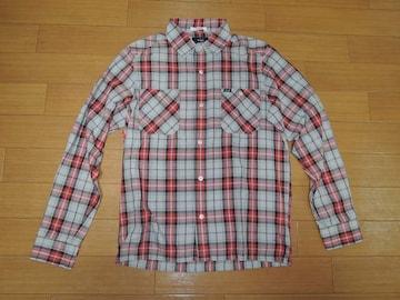 WTAPSダブルタップスUNIONチェックシャツS薄手