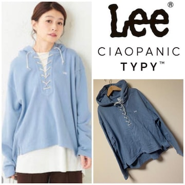☆Lee × CIAOPANIC TYPY レースアップパーカー☆