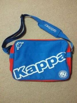 サントリー コーヒー BOSS ボス Kappa コラボ ショルダー スポーツ バッグ ブルー レッド