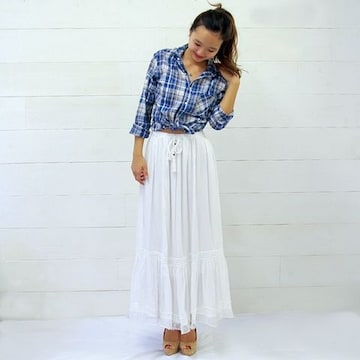 LaLaiaラレイア;マキシスカート