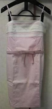 プライベートレーベル★リボンベルト付きワンピース
