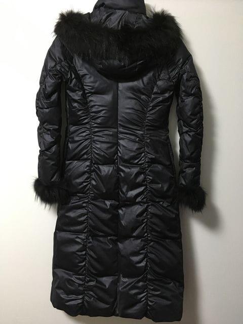 □良品《FRAGILE/フラジール》ダウンコート 黒 サイズ36□ < ブランドの