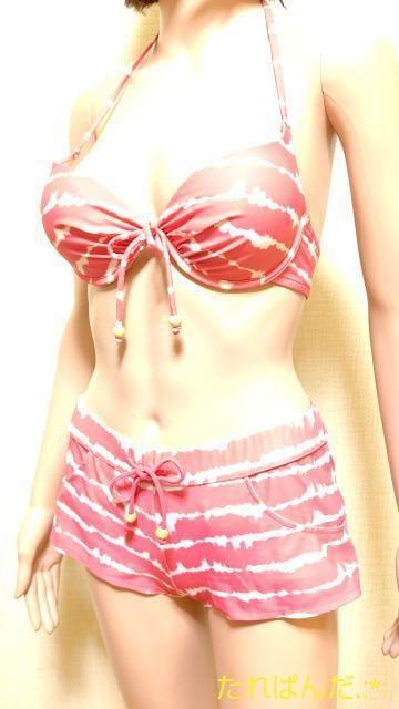 美品☆MOUSSY☆もり�Aピンクのsexyビキニセット5102☆3点で即落  < 女性ファッションの