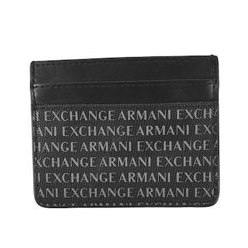 ★アルマーニエクスチェンジ カードケース(BK)『958053 CC230』★新品本物★
