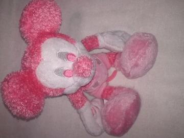 ディズニー ミッキー ぬいぐるみ ピンク