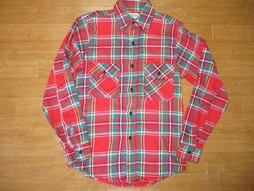 USA製 ファイブブラザー ヘビー ネルシャツ USA−S