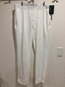NIKE golf ナイキ ゴルフ パンツ ズボン 白 フレックスハイブリッドパンツ メンズ