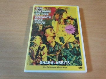 シャカラビッツDVD「2010年サラペのBUS TOUR」SHAKALABBITS●