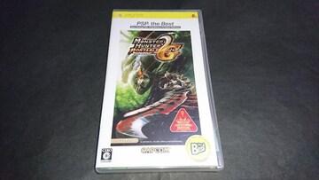 PSP モンスターハンターポータブル2nd G PSP the Best / ケース・解説書付き