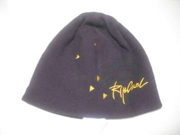 rc287 男 RIP CURL リップカール ニット帽 ビーニー 紫