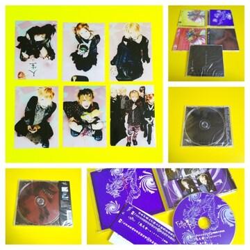レア★the GazettE-ガゼットFCライブ限定販売CD&廃盤CD5点&エターナル時代
